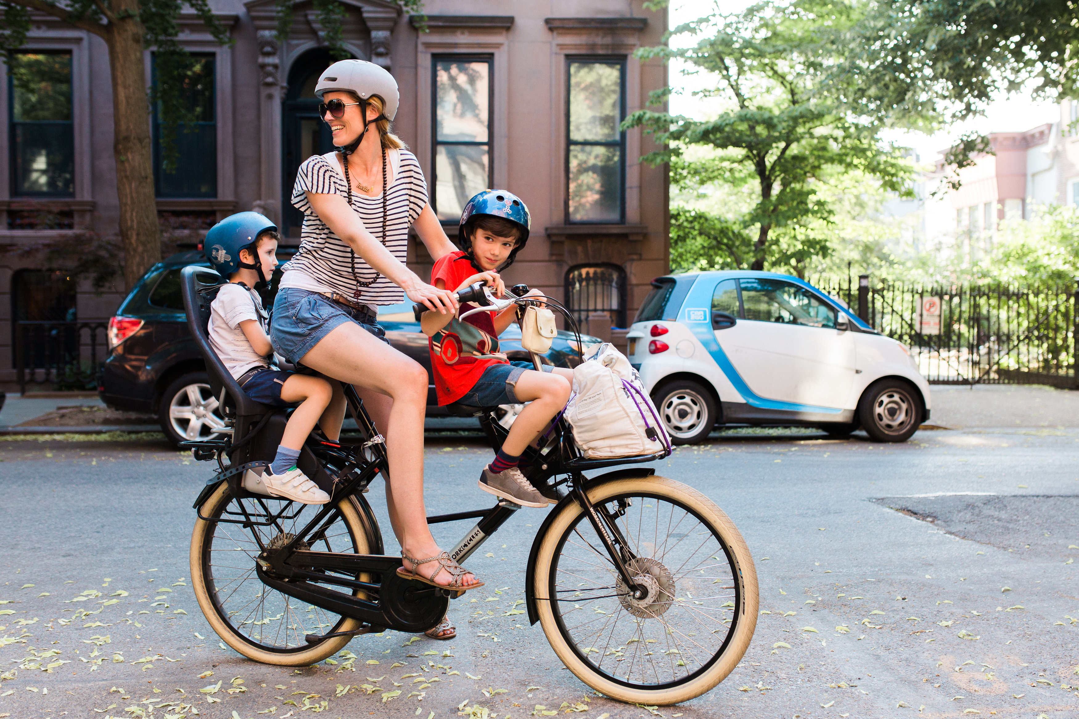 Riding Bikes Brooklyn With Multiple Kids Bike World